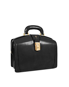Ladies Polished Italian Leather Briefcase - Pratesi
