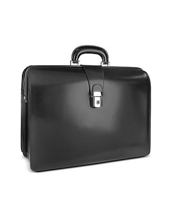 Pratesi - Men's Leather Doctor Bag Briefcase w/Interior Lighting