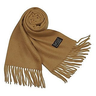 Extra-Soft Solid Cashmere Long Scarf - Basile