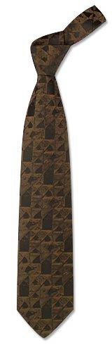 Dolce & Gabbana Gewobene geometrische Seidenkrawatte mit strukturierter Oberfläche