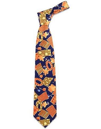 Forzieri - Flowers Patchwork Silk Tie