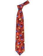 Forzieri Cravatta in seta a motivo geometrico - forzieri - it.forzieri.com