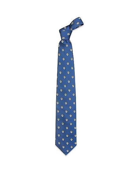 Image of Forzieri Gold Line - cravatta di seta gigli fiorentini