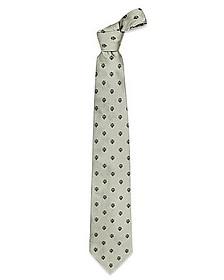 Gold Line - Florentine Fleurs-de-Lis Woven Silk Tie - Forzieri