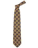 Forzieri Cravatta in seta con stampa a cerchi e diamanti multicolor - forzieri - it.forzieri.com