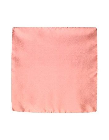 Forzieri Pochette de soie vieux rose