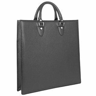 Foto der Handtasche L.A.P.A. Dunkelbraune Handtasche im Shopperstil aus Kalbsleder mit Beutelchen