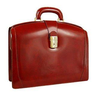 Pratesi  Junior Italian Leather Briefcase