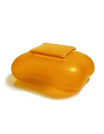 Alessi - Mary Biscuit - Orange Cookie Box