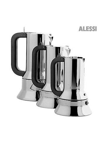 alessi 9090 espresso coffee maker for 3 cups at forzieri. Black Bedroom Furniture Sets. Home Design Ideas