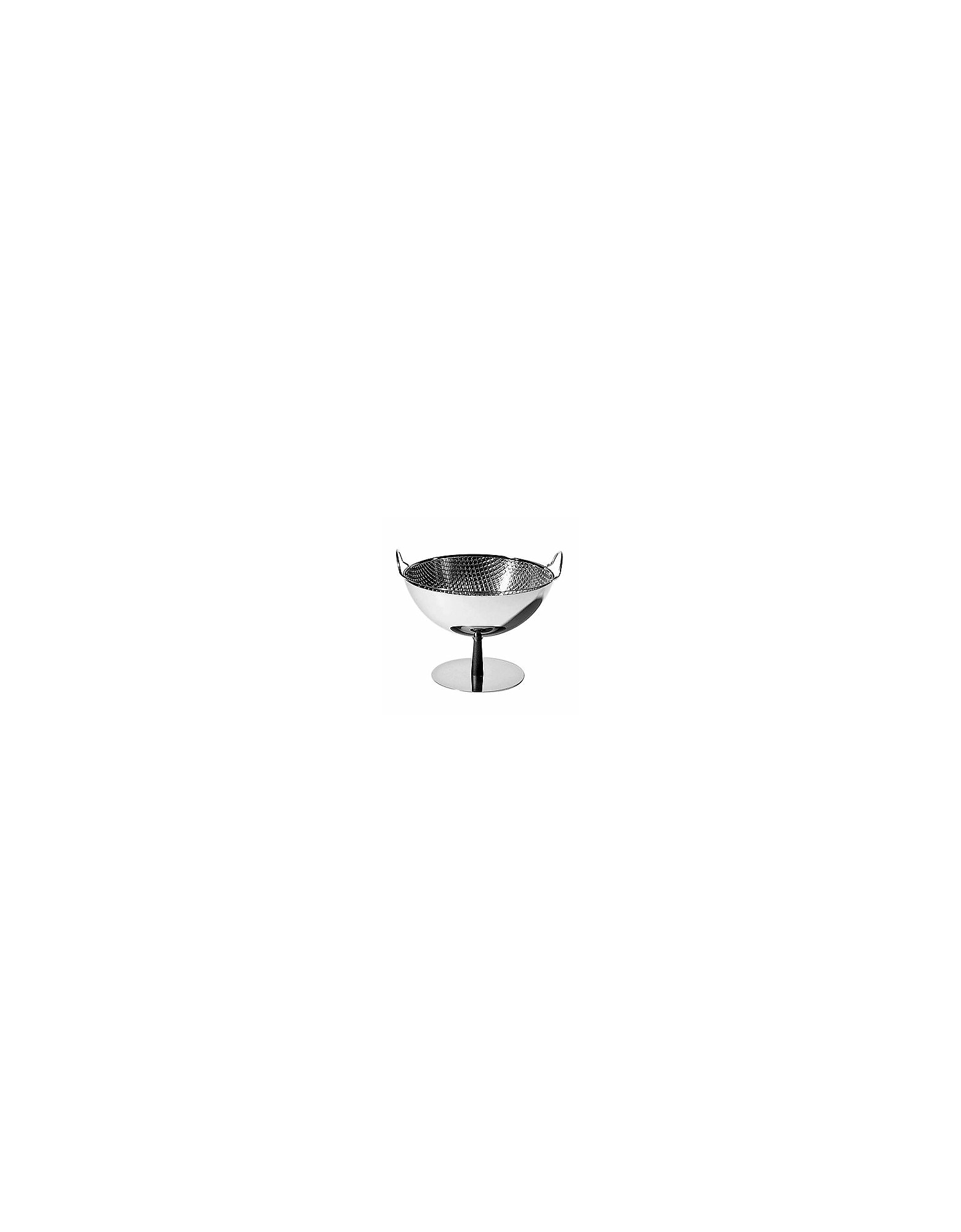 Alessi Kitchen & Dining, Fruit Bowl/Colander With Aluminium Base