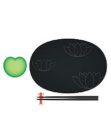 Lily Pond  - Sushi Set - Alessi
