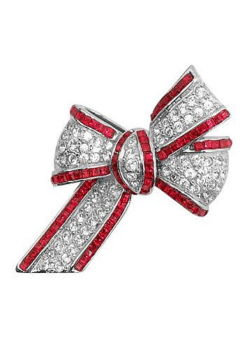 Bow Brooch - AZ Collection