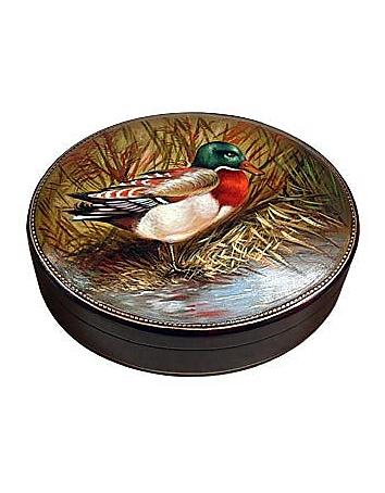 Bianchi Arte - Oil on Leather Jewelry Box
