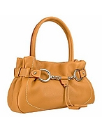 Buti Bauletto in pelle color cammello con dettaglio morsetto - buti - it.forzieri.com