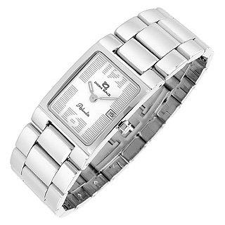 Dom Baiz  Aphrodite - Women's White Stainless Steel Date Watch