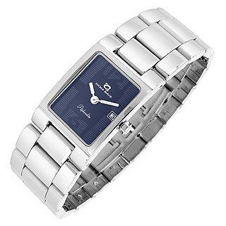 Dom Baiz  Aphrodite - Women's Navy Blue Stainless Steel Date Watch