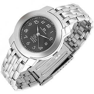 Dom Baiz  Miro' - Women's Gray Stainless Steel Date Watch