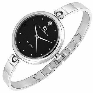 Dom Baiz  Top Model - Women's Black Stainless Steel Round Watch