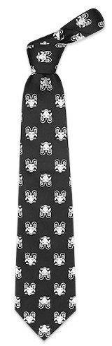 Fornasetti  Zodiacus - Aries Black Woven Silk Tie