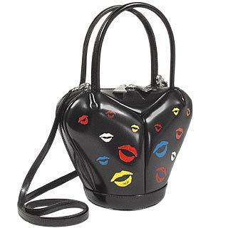 Foto der Handtasche Fontanelli Kuesse Handtasche aus italienischem Kalbsleder