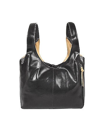 Black & Tan Reversible Italian Leather Handbag ft13113-008-00