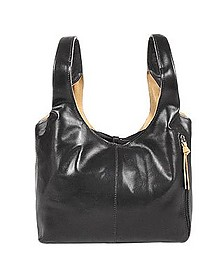 Black & Tan Reversible Italian Leather Handbag - Fontanelli