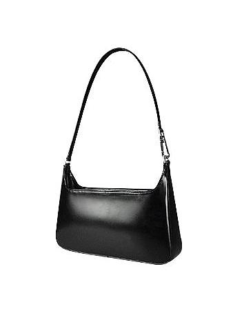 Fontanelli - Classic Black Leather Handbag