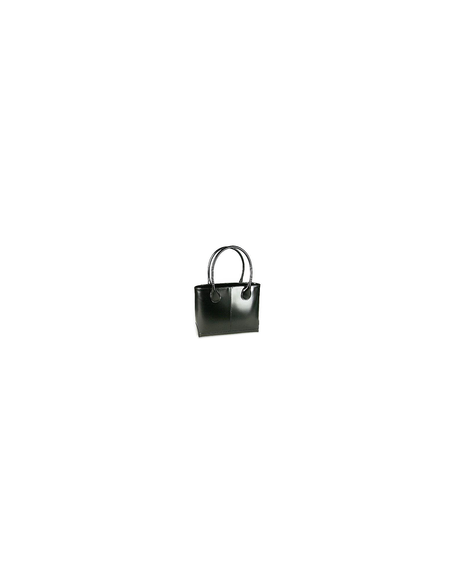 Fontanelli Handbags, Polished Italian Leather Tote Bag