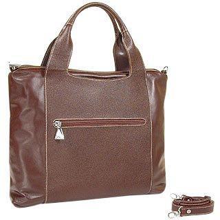 Fontanelli Maroon Calf Leather Handbag