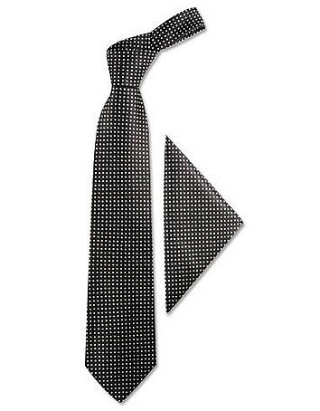 Forzieri - Polkadots Silk Tie & Pocket Square