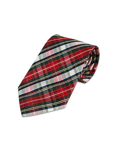 Foto Forzieri Cravatta in seta fantasia scozzese Cravatte