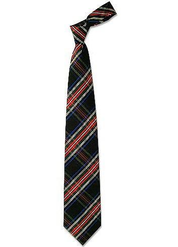 Plaid Silk Tie - Forzieri