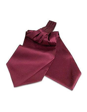 Steampunk Clothing- Men's Solid Silk Ascot $80.00 AT vintagedancer.com