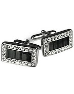 Lux-ID 208560 Silver Plated Cuff Links