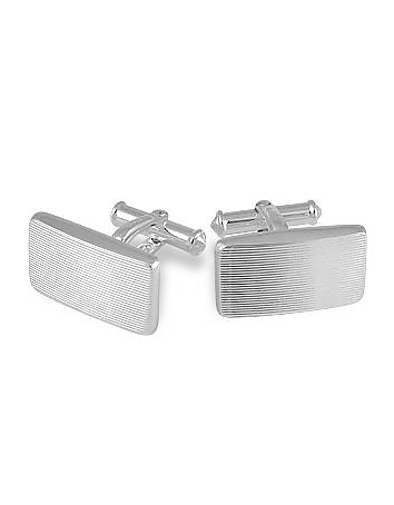 Forzieri - Dandy - Sterling Silver Carved Cufflinks