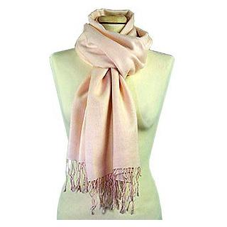 Lux-ID 210012 Pale Pink Pashmina Scarf