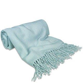 Lux-ID 210031 Powder Blue Pashmina Shawl