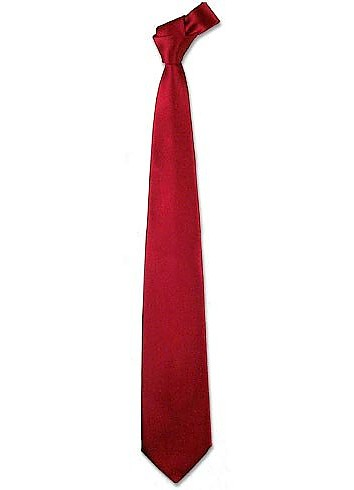 Solid Red Extra-Long Tie - Forzieri