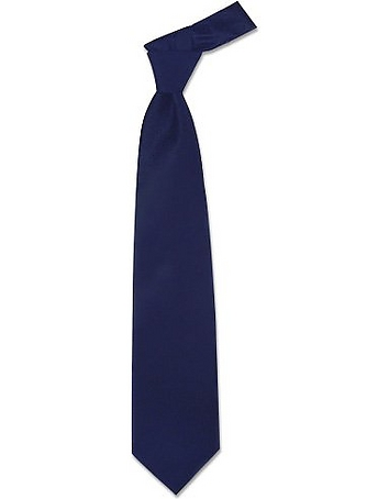 Forzieri - Solid Dark Blue Extra-Long Tie