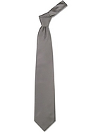 Forzieri Cravatta extra-long grigio scuro tinta unita - forzieri - it.forzieri.com