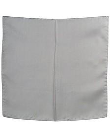 Grey Silk Pocket Square - Forzieri