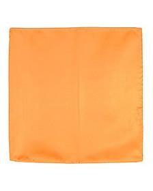 Orange Silk Pocket Square - Forzieri