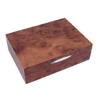 Forzieri Wood & Sterling Silver Jewelry Box