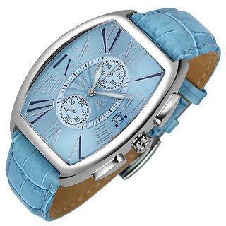 Haurex  Jack - Men's Aqua Stainless Steel Chronograph Watch