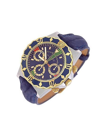 Ulysses Diver - Montre-chrono en or et acier inox