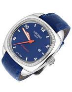 1970  Diamond Bezel Blue Automatic Watch