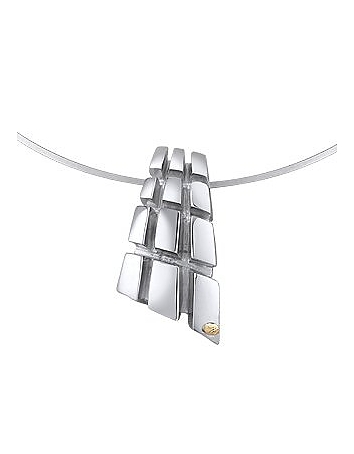 Masini - Manhattan - Sterling Silver Drop Pendant