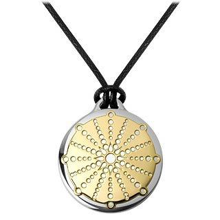 Masini  Old Shaw Village - Crop Circle Stainless Steel Pendant