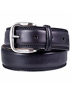 Lux-ID 208537 Black Smooth Leather Belt